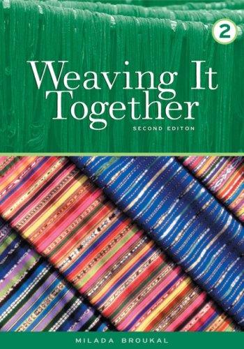 Weaving It Together 2 (College ESL), Broukal, Milada
