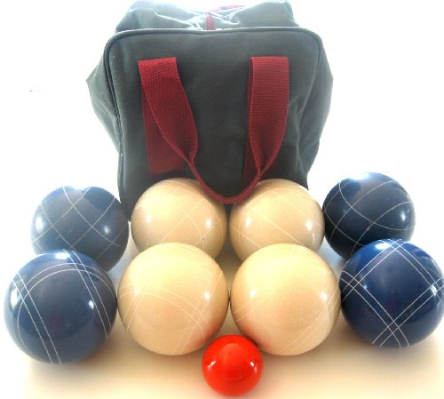 Premium Quality EPCO Tournament Set – 110mm Blue and White Bocce Balls with h… jetzt bestellen