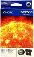 Brother LC-980BK Cartouche d'encre d'origine 1 x noire 300 pages