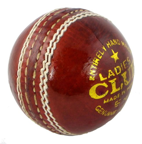Upfront Qvu Ladies Club Leather 5 oz Match Cricket Ball