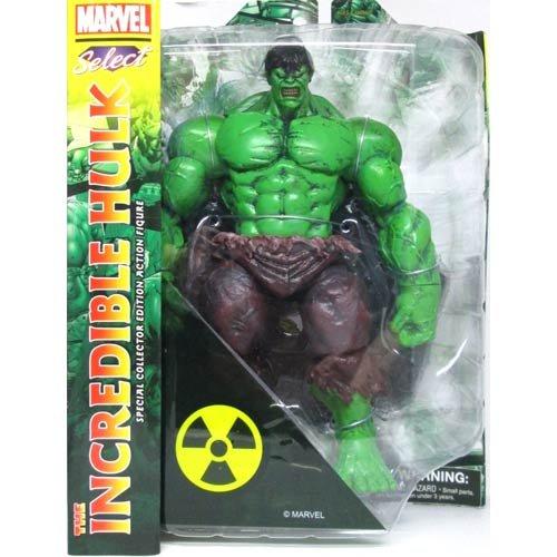 Diamond Select Toys Marvel Incredible Hulk Action Figure Diamond Select Toys Marvel Select Incredible Hulk Action Figure