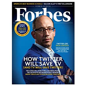 Forbes, October 14, 2013 Periodical