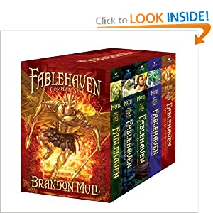 Fablehaven Complete Set (Boxed Set): Fablehaven; Rise of the Evening Star; Grip of the Shadow Plague; Secrets of the Dragon Sanctuary; Keys to the Demon Prison