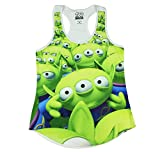 Disney Toy Story Aliens Sublimation Girls Tank Top 2XL