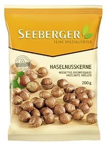 Seeberger Haselnußkerne, 4er Pack (4 x 200 g Packung)