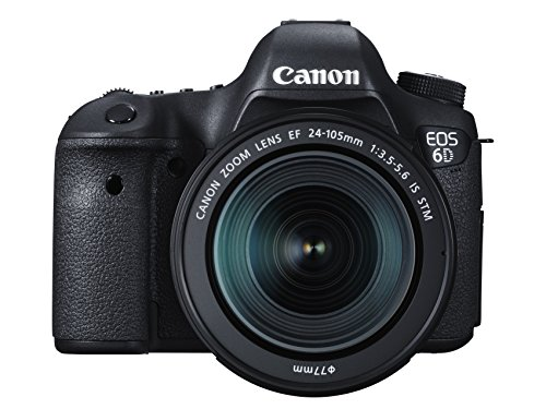Canon EOS 6D 20.2 MP CMOS Digital SLR Camera with EF 24-105mm IS STM Kit