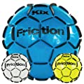 KixFriction Soccer Training Ball (Sizes 4 & 5), Great Street Soccer Ball Too (Plays Like Grass) - Sharpen Soccer Skills and Drills: Bottom Line, One of the Best Soccer Balls on the Market