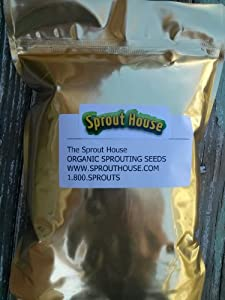 The Sprout House Broccoli Certified Organic Non-gmo Seeds for Sprouting 8 Ounces - 1/2 Pound