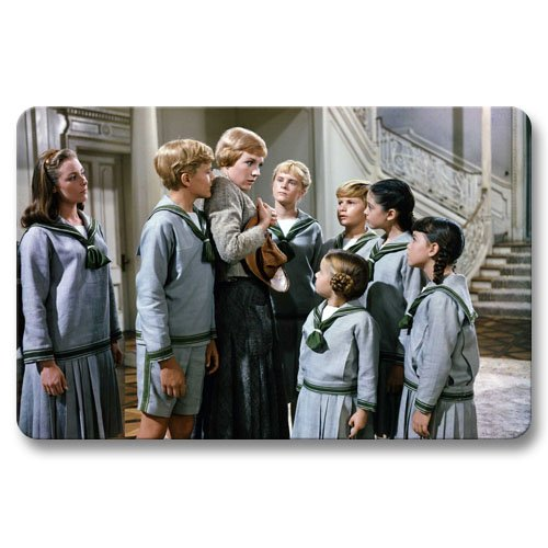 [Non-skid Doormats The Sound of Music Home Drawing Room Nice Gate Pad 16x24Inch / 40x60cm] (Nice Sailor Costumes)