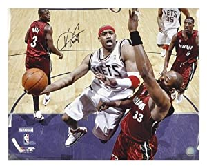 New Jersey Nets Vince Carter Autographed 16 x 20 Photo - Mounted Memories Certified by Sports+Memorabilia
