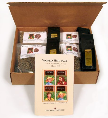 World Heritage Green Unroasted Coffee Bean Kit (4 LB)