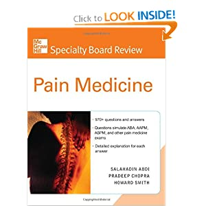 Specialty Board Review Pain Medicine