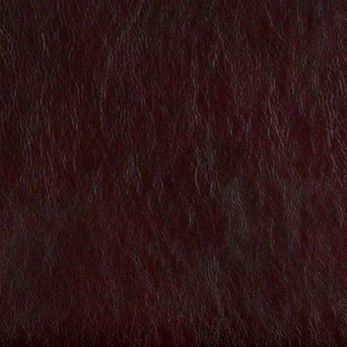 G476 Burgundy Upholstery Grade Recycled Leather (Bonded Leather) By The Yard (Marco Polo Costume)