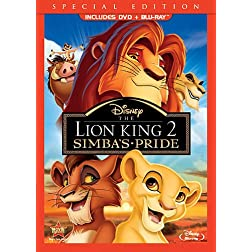The Lion King II: Simba's Pride (Two-Disc Blu-ray/DVD Combo)