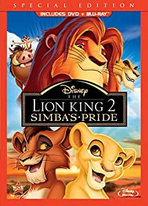 The Lion King 2: Simba's Pride (Special Edition DVD Combo Pack) [Blu-ray + DVD]
