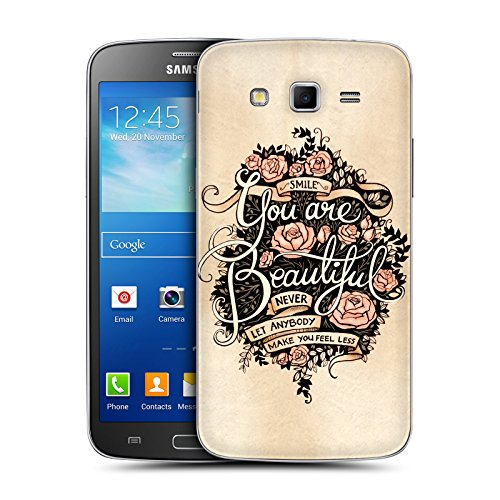 Head Case Designs Beautiful Introspection Replacement Battery Back Cover for Samsung Galaxy Grand 2 G7102 G7105