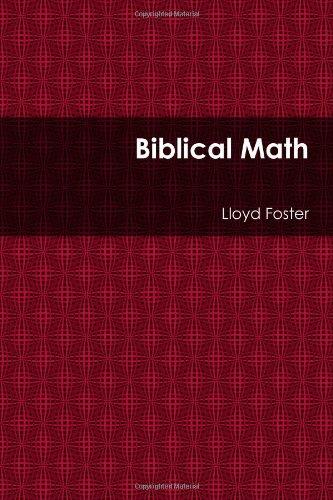 Book: Biblical Math by Lloyd Foster