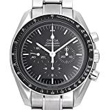 Omega Speedmaster Professional Moonwatch Black Dial Stainless Steel Mens Watch 31130423001005