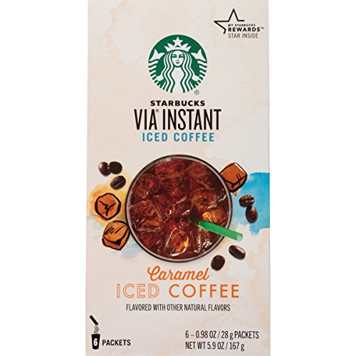 Starbucks VIA Instant Coffee, Caramel Iced Coffee, 36 Count (Starbucks Iced Caramel Coffee compare prices)