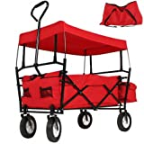 Compradetodobarato - Carro de carga con parasol hasta 80 kg. Playa, jard�n, camping..