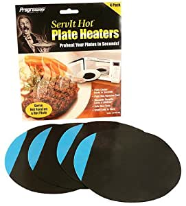 Progressus ServIt Hot Plate Heaters, Pack of 4