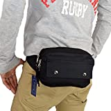 (トレリア) Trelia ウエストバッグ メンズ レディース ウエストポーチ 軽量 小さめ 作業用 集金用 ミニ ポーチ 5ポケット カバン 鞄 バッグ ユニセックス