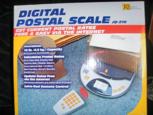 J Quality 10 Lb Internet Downloadable Rate Calculating ScaleB00006ID3M