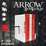 Mustard Arrow Magnetic Bookends (M15009)