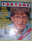 img - for Fortune Magazine Bill Gates Cover July 21, 1986