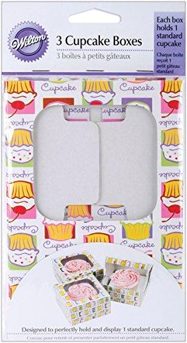 Wilton Cupcake Heaven Cupcake Box, Holds 1 Standard Cupcake