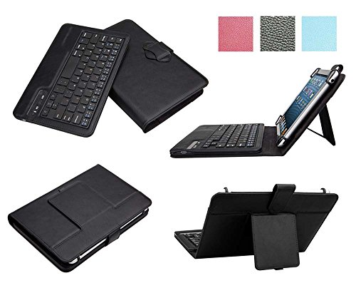 Click to buy Tsmine 2in1 Premium Rechargeable & Detachable Wireless Bluetooth Keyboard PU Leather Case Cover Build-in Stand Protective Skin for LG G Pad 8.0 LTE V480 / V490, Keyboard Case Black - From only $26.89