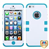 Product B00A0EV5WI - Product title MYBAT IPHONE5HPCTUFFSO021NP Premium TUFF Case for iPhone 5 - 1 Pack - Retail Packaging - Solid White/Tropical Teal