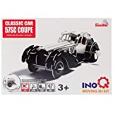 Simba Inoq 3D Moving Set Classic Car 57SC Coupe, Multi Color