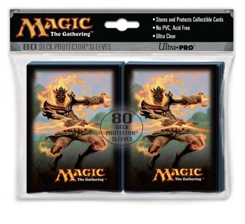 Utra Pro The Magic the Gathering (MTG) - (Lorwyn Gaming Supplies) Flamekin Bladewhirl Deck Protectors (80 Sleeves) - 1
