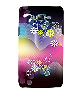printtech Flower Abstract Design Back Case Cover for Samsung Galaxy Grand 2 G7102 / Samsung Galaxy Grand 2 G7106