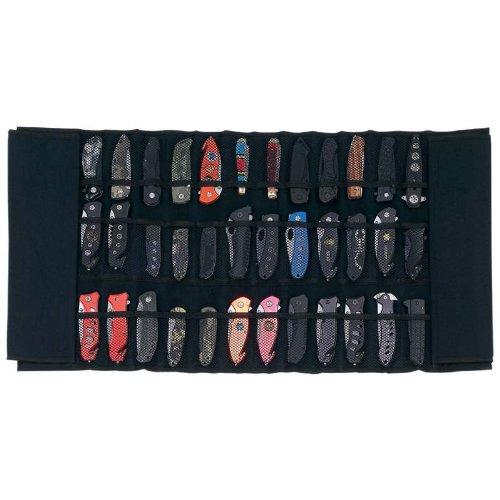 Maxam Padded Nylon Knife Display Roll Case
