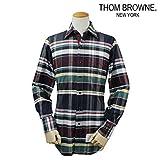 (トムブラウン)THOM BROWNE NEW YORK ボタンダウン シャツ チェックシャツ CHECK PATTERNED BOTTON SHIRT 0 (並行輸入品)