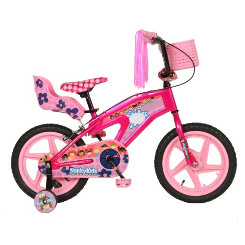 Stinkykids Girl's Bicycle (16 x 10 - Inch, Pink)