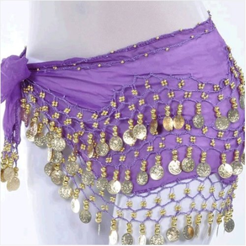 OPCC Belly Dance Hip Skirt Scarf Wrap Belt costume