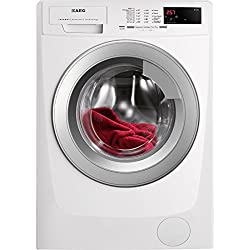 AEG L68280VFL Independiente 8kg 1200RPM A+++ Color blanco Front-load - Lavadora (Independiente, Color blanco, Front-load, 8 kg, 1200 RPM, B)
