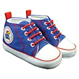Kansas Jayhawks Infant Soft Sole Canvas Shoe SM at Amazon.com