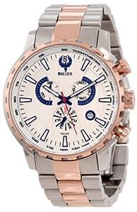 Brillier Men's 16-03 Endurer Rose Gold Chronograph Swiss Quartz Watch
