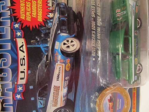 Johnny Lightning 1992 Chevy Camaro Dragsters USA LAPD Police Racing Team MIB - 1
