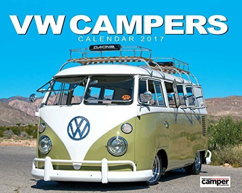 VW Campers 2017 Wall Calendar
