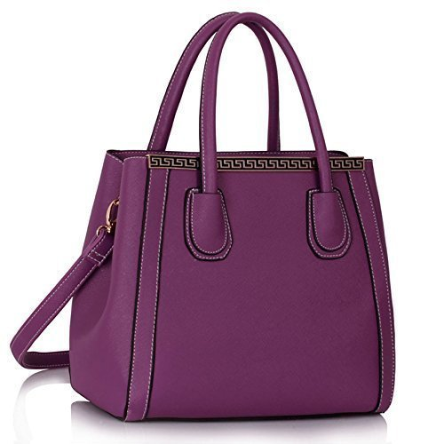 Ladies Fashion Bags Womens Shoulder Tote Handbags Designer Faux Leather New Celebrity Style Bags