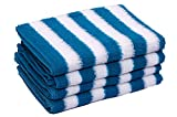 Skumars Love Touch Cotton Hand Towel - Blue