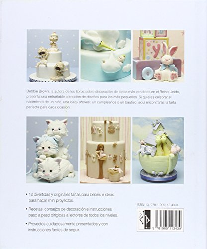 B.dutton publishing (a division of squires kitchen magazine publishing ltd.) M273892 - Libro de reposteria baby cakes de debbie brown