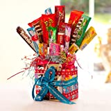 American Candy Sweet Bouquet - Perfect Birthday Gift or Party Centerpiece