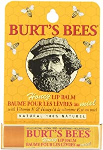 Burt's Bees 100% Natural Lip Balm, Honey