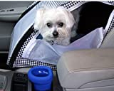 H2O On The Go Spill-Proof Dog Bowl for Car's Cupholders (Blue)